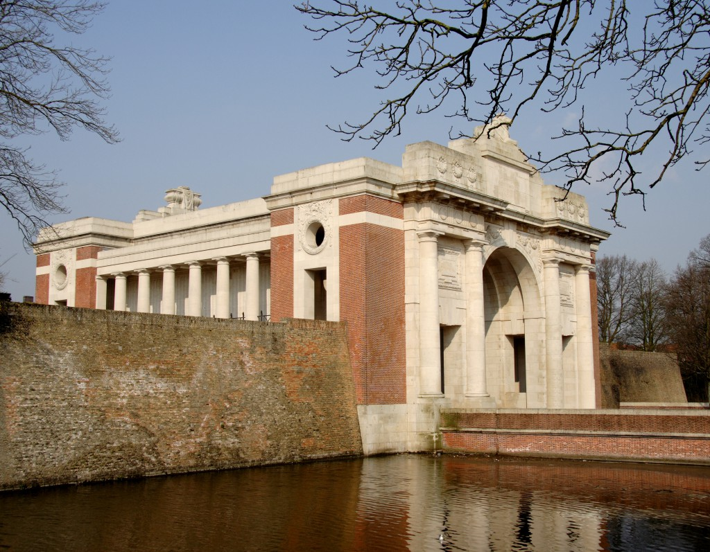 The Menin Gate Memorial to the Missing, Ypres