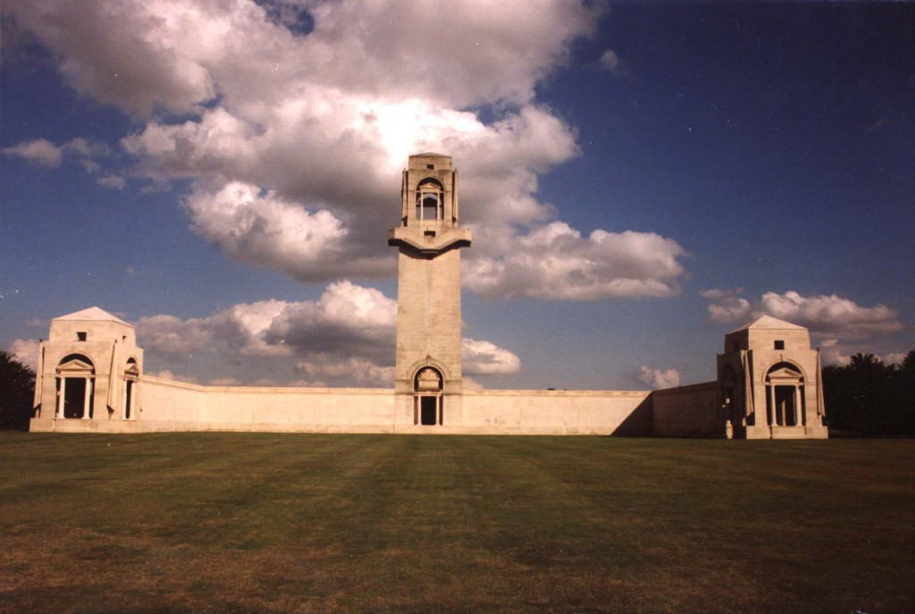 Australian National Memorial, Villers-Bretonneux Cemetery, east of Amiens