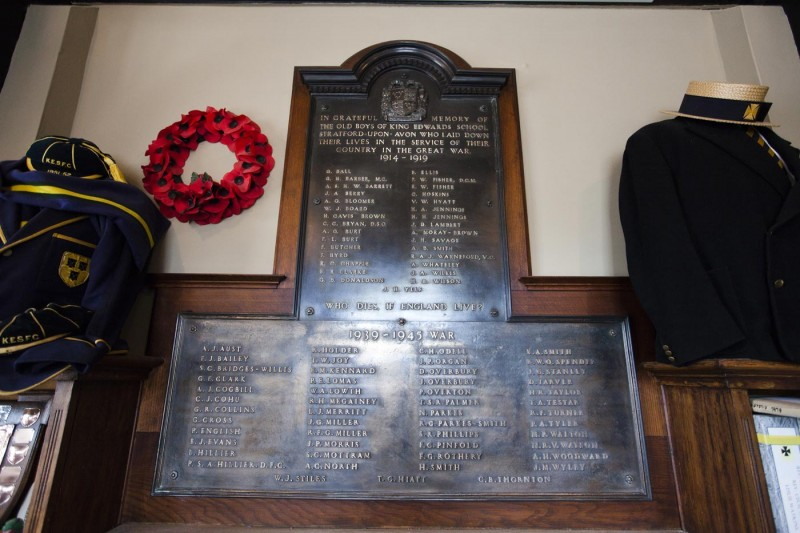 The King Edward VI School Memorial